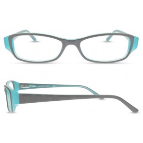 Scott Harris Sh306 Eyeglasses-Black-Teal