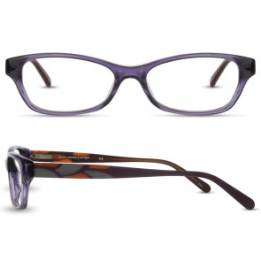 Scott Harris Sh314 Eyeglasses-Plum-Smoke-Rust