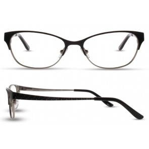 Scott Harris Sh328 Eyeglasses-Black-Silver