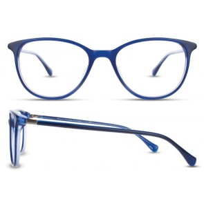 Scott Harris Sh334 Eyeglasses-Navy-Sky