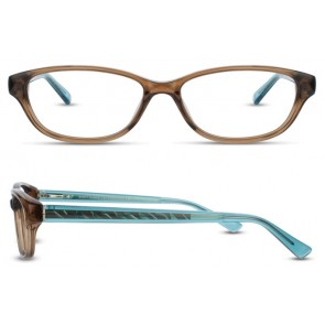 Scott Harris Sh338 Eyeglasses-Cocoa-Aqua
