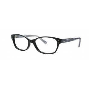 Sirene Eyeglasses-Black-100
