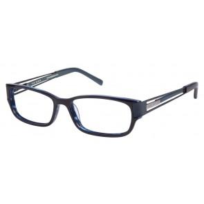 Ted Baker B856 Eyeglasses-Navy-Grey Blue